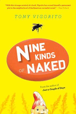 """""""Nine Kinds Of Naked"""" by Tony Vigorito - cover art"""